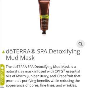 Brand new all natural detoxing mask